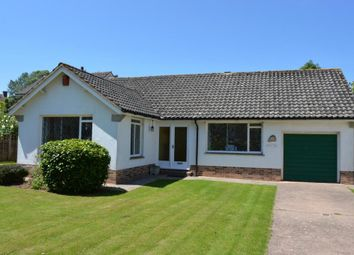 Thumbnail 2 bed detached bungalow for sale in Woolbrook Park, Sidmouth, Devon