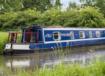 Thumbnail 2 bedroom houseboat for sale in Far Coton, Market Bosworth, Nuneaton