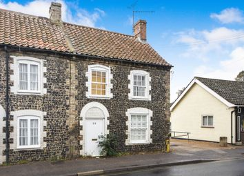 Thumbnail 2 bed end terrace house for sale in Bury Road, Thetford