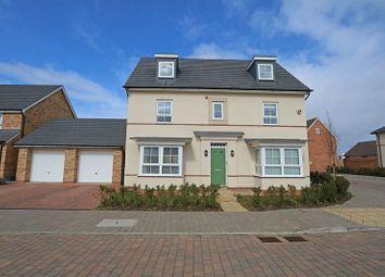 5 bed detached house for sale in Mauretania Way, Brooklands, Milton Keynes MK10