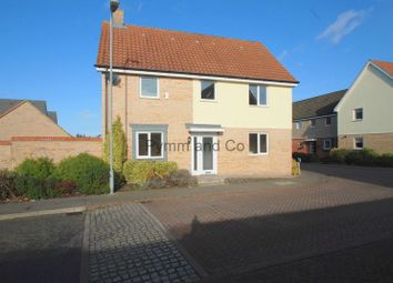 Thumbnail 4 bed detached house to rent in Linnet Road, Costessey, Norwich