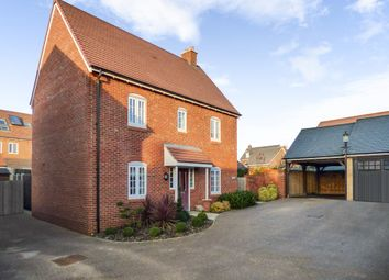 Thumbnail 3 bed detached house for sale in West Hill Close, Great Denham, Beds