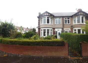 Thumbnail 3 bedroom terraced house for sale in Fletchamstead Highway, Coventry, West Midlands