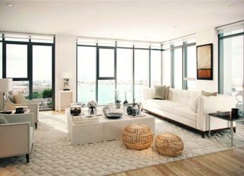 Thumbnail 2 bed flat for sale in King Henry's Dock, Europe Road, Woolwich, London