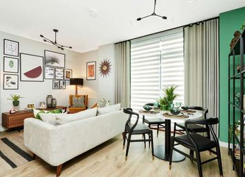 "Thumbnail 3 bed flat for sale in ""Plot 92"" at Victoria Way, London"