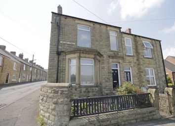 Thumbnail 4 bed semi-detached house for sale in Watling Street, Leadgate, Consett