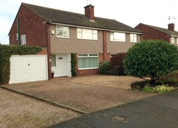 Thumbnail 3 bedroom semi-detached house to rent in Porlock Avenue, Stafford