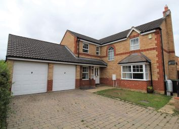 Thumbnail 4 bed detached house for sale in Wingfield Drive, Potton, Sandy