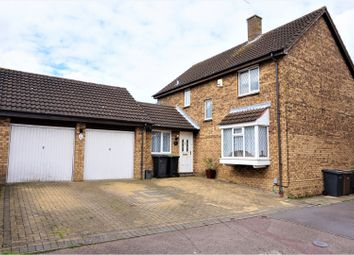 Thumbnail 4 bed detached house for sale in Snowford Close, Luton