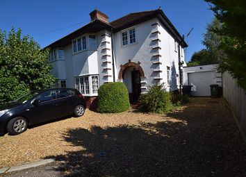 Thumbnail 3 bed semi-detached house to rent in New Road, Harston, Cambridge