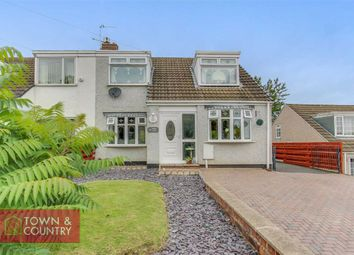 Thumbnail 3 bed semi-detached house for sale in Wepre Lane, Connah's Quay, Deeside, Clwyd