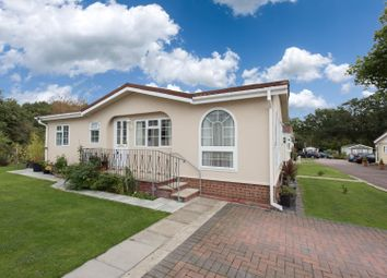 Thumbnail 2 bed mobile/park home for sale in Bluebell Woods, Shalloak Road, Broad Oak, Canterbury