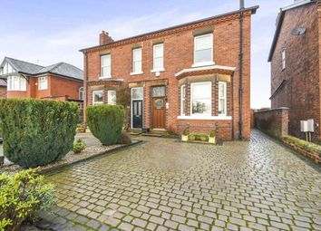 Thumbnail 3 bed semi-detached house for sale in Newton Road, Lowton, Warrington