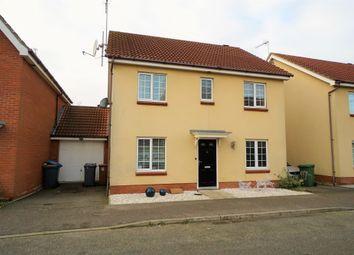 Thumbnail 4 bedroom detached house for sale in Spindler Close, Kesgrave IP52Da