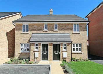Thumbnail 3 bed semi-detached house for sale in The Kestrel At Chiswell Place, New Cardington, Bedfordshire