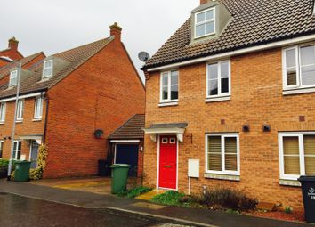 Thumbnail 3 bed property to rent in Cabinet Close, Dereham