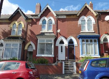 Thumbnail 3 bed terraced house to rent in Woodland Road, Handsworth, Birmingham, West Midlands