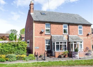Thumbnail 3 bed semi-detached house for sale in Barons Cross Road, Leominster, Herefordshire