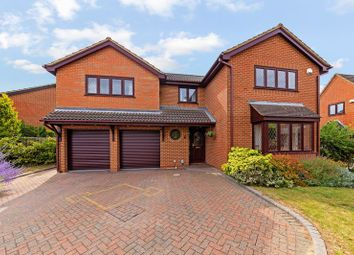 Thumbnail 5 bed detached house for sale in Statham Close, Luton