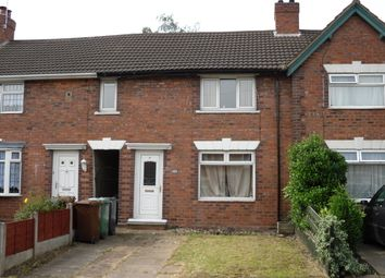 Thumbnail 2 bed terraced house to rent in Bryan Road, Bescot, Walsall