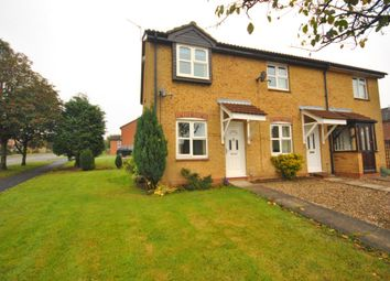 Thumbnail 2 bed semi-detached house to rent in Meadow Court, Narborough, Leicester