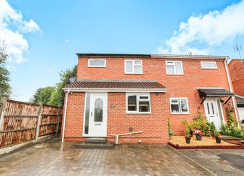 Thumbnail 3 bed semi-detached house for sale in Sheepcroft Hill, Stevenage