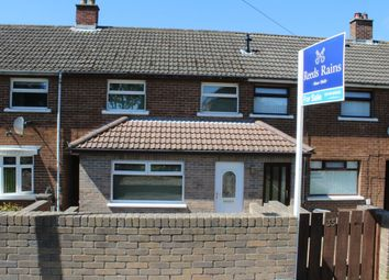 Thumbnail 3 bed terraced house for sale in Brooklands Avenue, Dundonald, Belfast