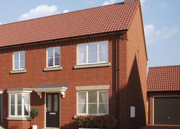 Thumbnail 2 bed end terrace house for sale in Hempstead Road, Holt