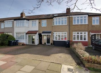 Thumbnail 4 bed terraced house for sale in Carnarvon Avenue, Enfield