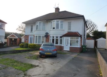 Thumbnail 3 bedroom semi-detached house for sale in Glas Heulog, Whitchurch, Cardiff