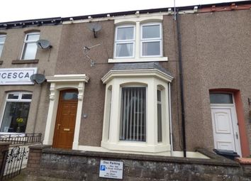 Thumbnail 4 bed terraced house to rent in Queen Street, Aspatria, Wigton