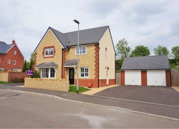 Thumbnail 4 bed detached house for sale in Kingfisher Road, Shepton Mallet