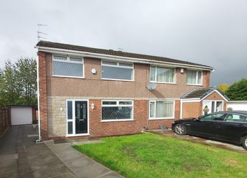 Thumbnail 3 bed semi-detached house for sale in Standfield Drive, Worsley
