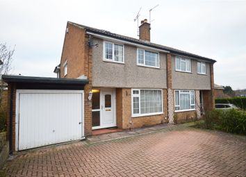 Thumbnail 3 bed semi-detached house for sale in Linton Rise, Leeds, West Yorkshire