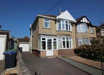 Thumbnail 3 bed semi-detached house to rent in King Alfred Street, Chippenham