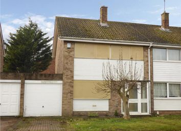 Thumbnail 3 bed semi-detached house for sale in Coniston Close, Gillingham