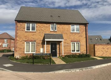 Thumbnail 4 bed detached house for sale in Woodpecker Way, Didcot