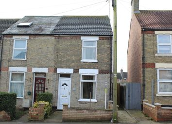 Thumbnail 2 bedroom end terrace house for sale in Main Street, Farcet, Peterborough