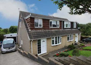 Thumbnail 3 bed semi-detached house for sale in Airdale Avenue, Skipton, North Yorkshire