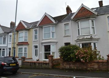 Thumbnail 4 bed terraced house for sale in Glanmor Road, Swansea