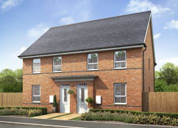 "Thumbnail 3 bedroom semi-detached house for sale in ""Finchley"" at Lime Pit Lane, Cannock"