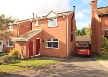Thumbnail 3 bed detached house for sale in Kestrel Close, Burbage, Hinckley