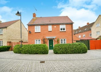 Thumbnail 3 bedroom detached house for sale in Barbel Close, Calne