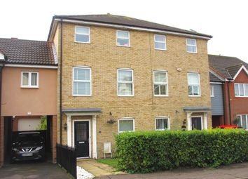 Thumbnail 3 bed town house to rent in Hogarth Way, Ashingdon, Rochford