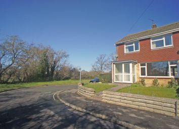 Thumbnail 3 bed end terrace house to rent in Brookfield Close, Havant