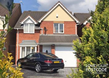 Thumbnail 4 bed detached house for sale in Dudley Road East, Tividale, Oldbury