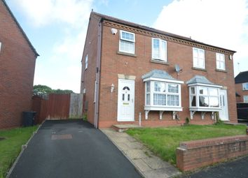 Thumbnail 3 bedroom semi-detached house for sale in Steppingstone Street, Dudley