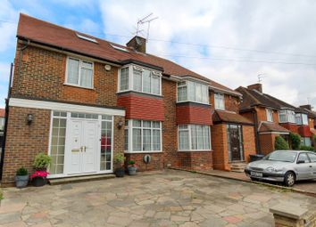 Thumbnail 4 bed semi-detached house for sale in Broadhurst Avenue, Edgware