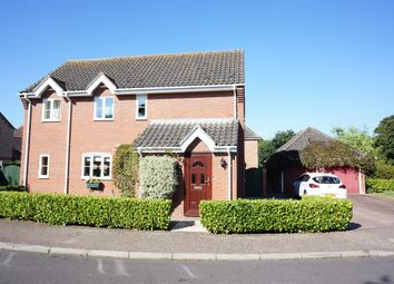 Thumbnail 4 bed detached house for sale in The Green, Earsham, Bungay