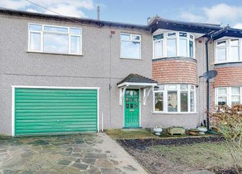 Thumbnail 4 bed semi-detached house for sale in Spring Park Road, Shirley, Croydon, Surrey